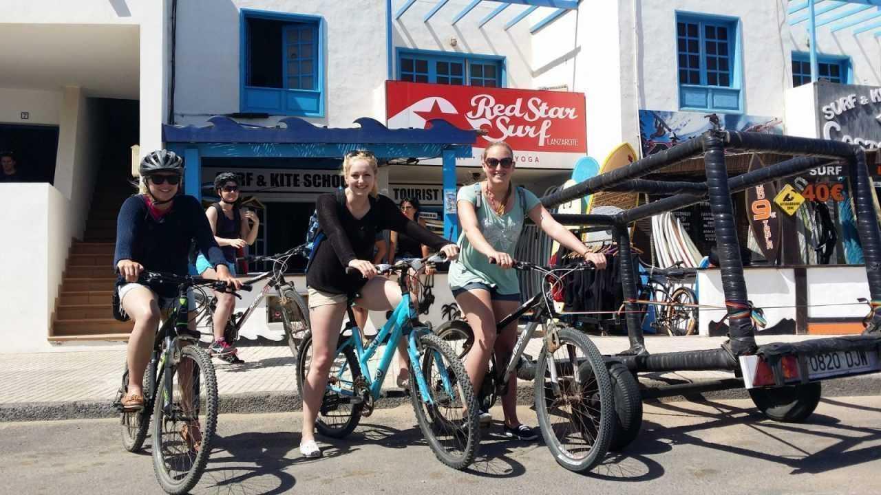 Bike Rental Lanzarote Redstarsurf