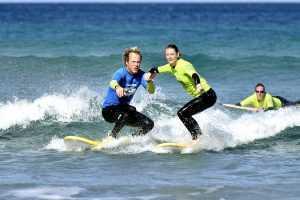 Beginner Surfunterricht