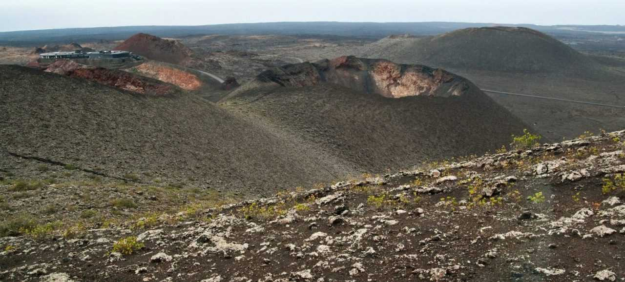 Volcanoes in Timanfaya, Lanzarote