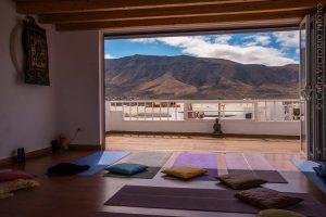 yoga room famara
