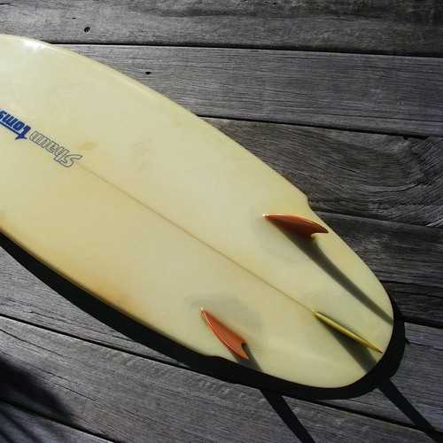 Surfboard Design Thruster Fin Set-Up