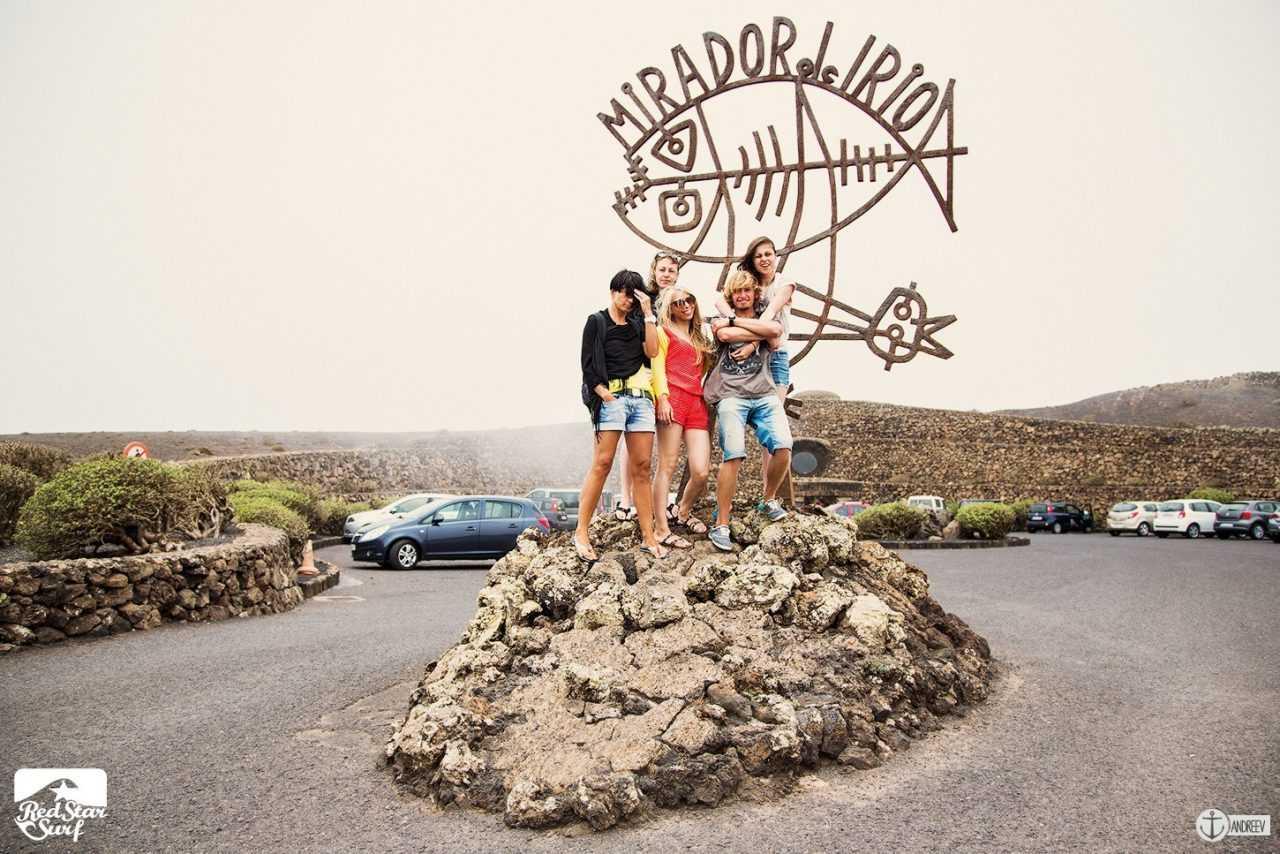 """Смотровая площадка """"Мирадор дель Рио"""", спроектированная по дизайну Сезара Манрике - Чем заняться на Лансароте"""