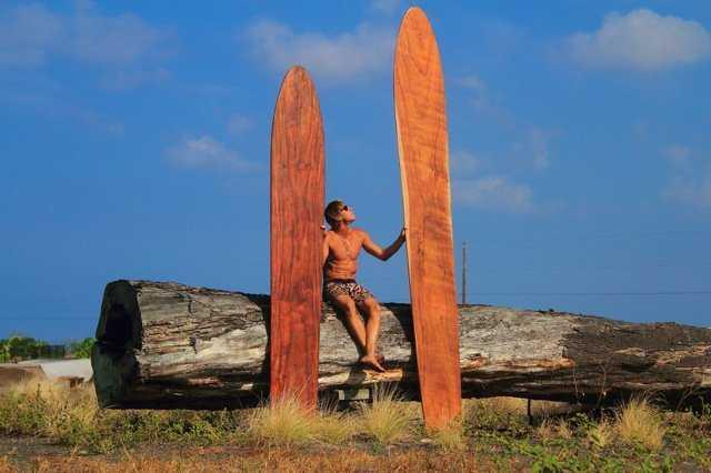 Гавайские доски 5 м в длину - История серфинга