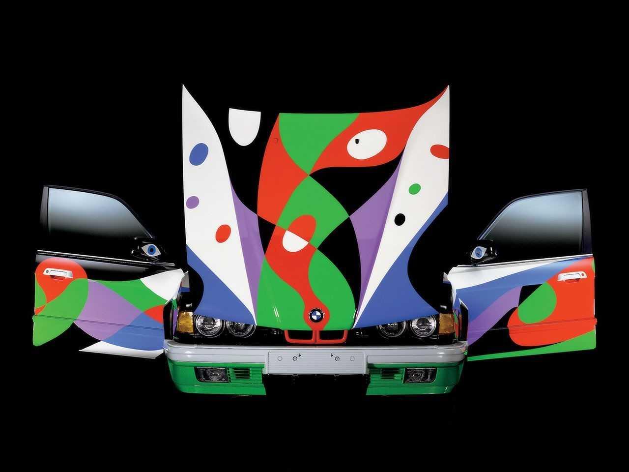 Lanzarote Geschichte BMW Art Car Collection von Manrique designed
