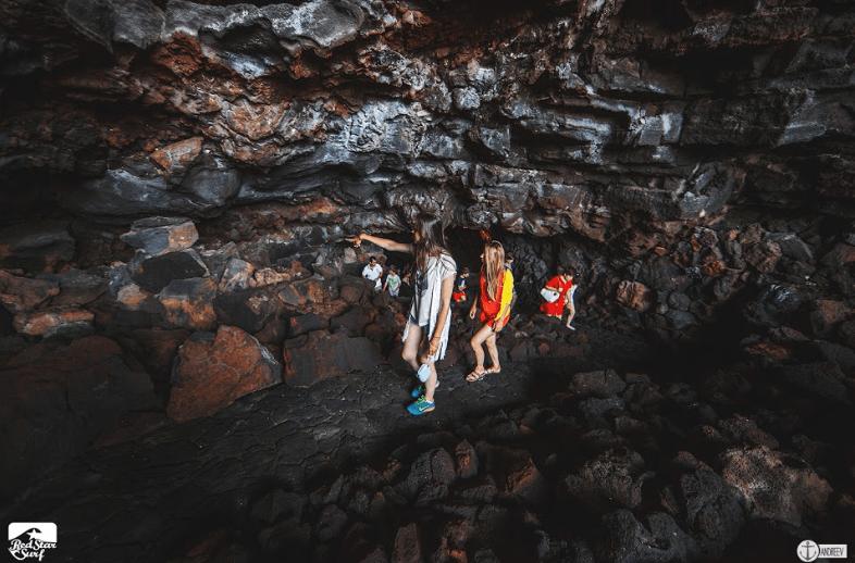 Пещера Хамеос дель агуа, превратившаяся в тропический сад и концертный зал - История Лансароте