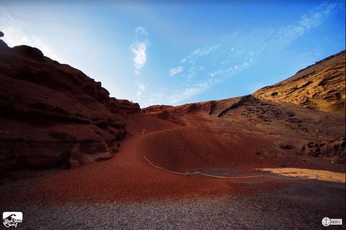 Lanzarote Geschichte Vulkanlandschaft
