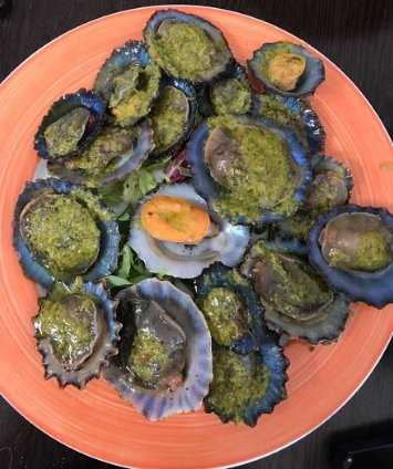 Lanzarote Gastronomie Napfschnecken - Lapas