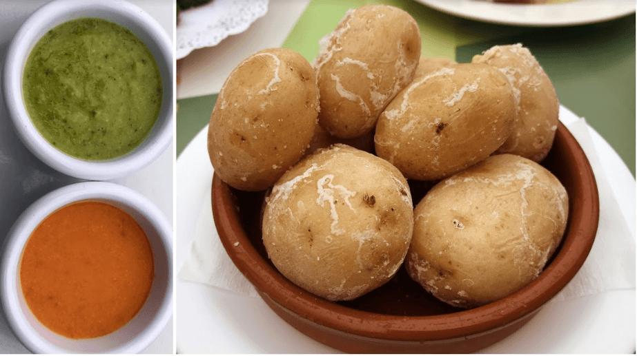 """Картофель по-канарски """"Папас арругадас"""" - Кухня Лансароте"""