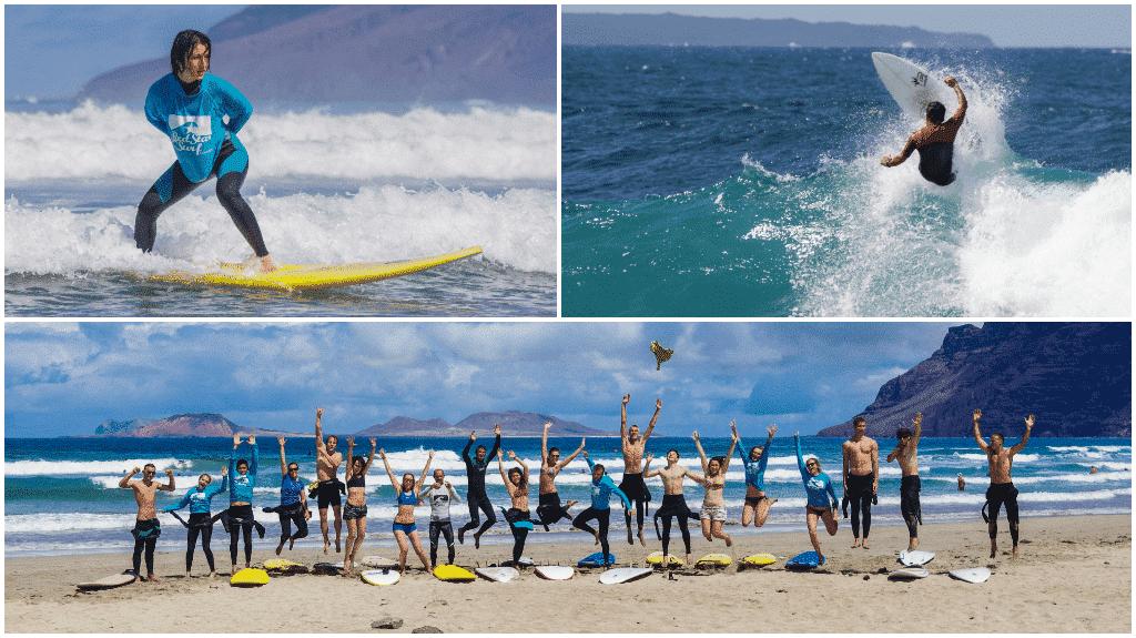 Richtige Surfboard Auswahl für Anfänger und Fortgeschrittene Surfer auf Famara Beach