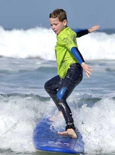 children surf lessons red star surf school lanzarote