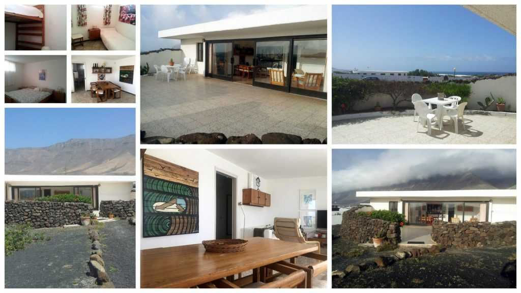 beach bungalow famara