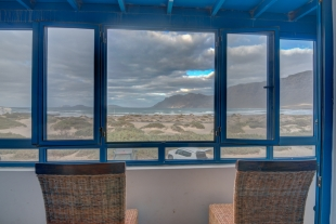 Famara - Beach view from Double room - Casa del Mar
