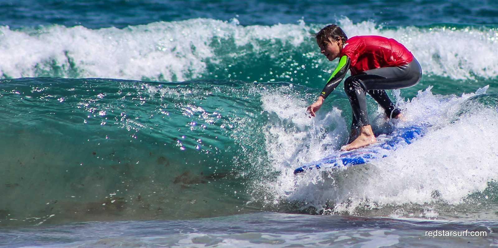 Surf lessons Redstarsurf Lanzarote